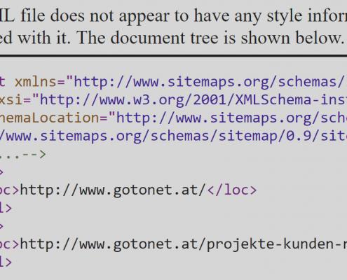 Google XML Sitemap: Pflicht oder Kür